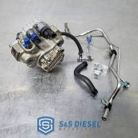 S&S Diesel Motorsport - 2011-2016 Duramax LML CP3 conversion kit w/pump - Offroad Use Only - No DPF - No Tuning Req'd